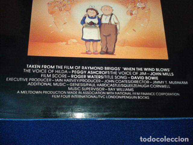 """Discos de vinilo: Vinilo, 7"""", Single, 45 RPM ( DAVID BOWIE - WHEN THE WIND BLOWS ) 1986 VIRGIN - Foto 4 - 105768927"""