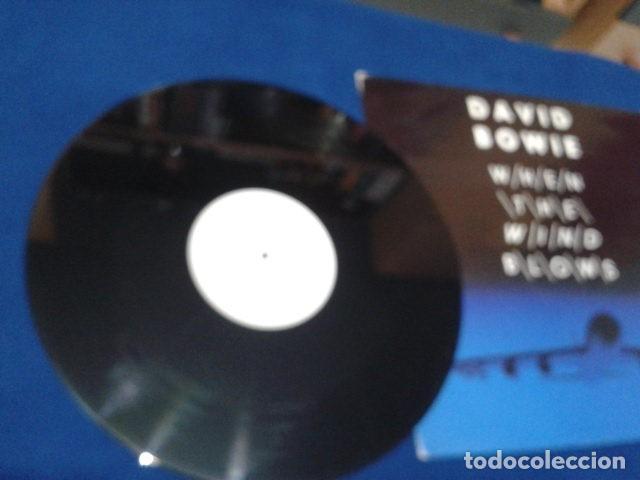 """Discos de vinilo: Vinilo, 7"""", Single, 45 RPM ( DAVID BOWIE - WHEN THE WIND BLOWS ) 1986 VIRGIN - Foto 6 - 105768927"""