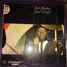 Discos de vinilo: ART BLAKEY– SOUL FINGER. EDICION HOLANDESA. Lote 105768947