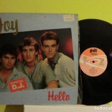Discos de vinilo: JOY, ( HELLO)1986 MAXI, LOTE 305. Lote 105770071