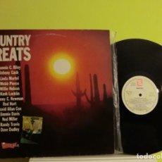 Discos de vinilo: COUNTRY GREATS 1989 LP, LOTE 313. Lote 105771715