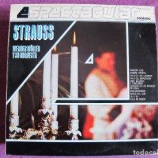 Discos de vinilo - LP - WERNER MULLER Y SU ORQUESTA - STRAUSS ESPECTACULAR (SPAIN, TELEFUNKEN-4 FASES 1982) - 105777375