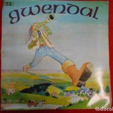 Discos de vinilo: GWENDAL. Lote 105789923