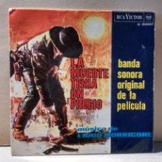 Discos de vinilo: LA MUERTE TENÍA UN PRECIO (B.S.O. DE LA PELÍCULA) - ENNIO MORRICONE. Lote 105797923