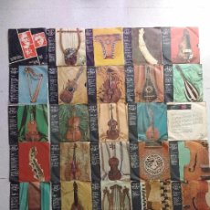 Discos de vinilo: HISTORIA DE LA MÚSICA CODEX. VOLUMEN I. NÚMEROS 1 AL 27 (FALTA EL 14, SOLO CARATULA). Lote 105800255