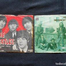 Discos de vinilo: THE BEATLES // LOTE DE DOS SINGLES . Lote 105803095