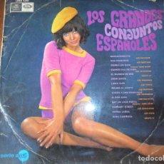 Discos de vinilo: LOS GRANDES CONJUNTOS ESPAÑOLES LP 1967- SALVAJES- TONKS- HURACANES- LONE STAR- MUSTANG- ROCKEROS- +. Lote 105810615