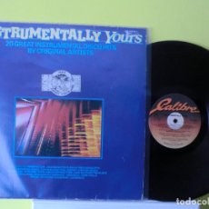 Discos de vinilo: INSTRUMENTALLY YOURS( LP DOBLE 1982-83) LOTE 317. Lote 105816759