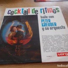 Disques de vinyle: COCKTAIL DE RITMOS BAILE CON PETER KREUDER.. Lote 105821139