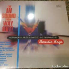 Discos de vinilo: LP THE BEASTIE BOYS THE IN SOUND FROM WAY OUT! VINILO HIP HOP. Lote 105823679