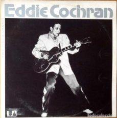 Discos de vinilo: EDDIE COCHRAN : LEGENDARY MASTER SERIES [ESP 1975] LPX2/COMP/GAT. Lote 105824167