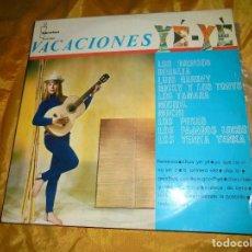 Discos de vinilo: VACACIONES YE-YÉ. LOS BRINCOS, PAJAROS LOCOS, LOS PEKES.. IBEROFON 1965. Lote 105847939