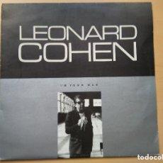 Discos de vinilo: LEONARD COHEN - I´M YOUR MAN (LP) 1989 EDICION CHECOSLOVACA. Lote 105866367