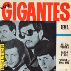 Discos de vinilo: GIGANTES, EP, TEMA + 3, AÑO 1966. Lote 105873451