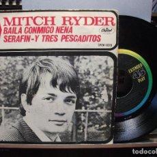 Discos de vinilo: MITCH RYDER BAILA CONMIGO NENA + 3 EP MEJICO PDELUXE. Lote 105874331