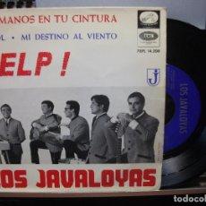 Discos de vinilo: LOS JAVALOYAS HELP + 3 EP SPAIN 1965 PDELUXE. Lote 105875679