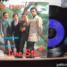 Discos de vinilo: LONE STAR AMOR BRAVO + 3 EP SPAIN 1976 PDELUXE. Lote 105876199