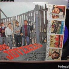 Discos de vinilo: LOS JOVENES ADIOS MI AMOR + 3 EP SPAIN 1965 PDELUXE. Lote 105876731