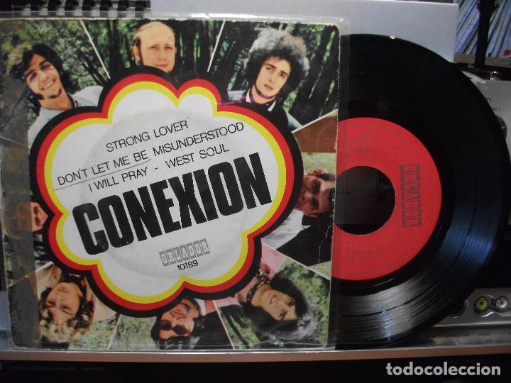 CONEXIÓN STRONG LOVER + 3 EP SPAIN 1970 PDELUXE (Música - Discos de Vinilo - EPs - Funk, Soul y Black Music)