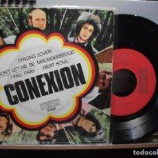 Discos de vinilo: CONEXIÓN STRONG LOVER + 3 EP SPAIN 1970 PDELUXE. Lote 105877275