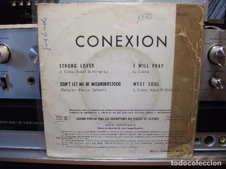 Discos de vinilo: CONEXIÓN STRONG LOVER + 3 EP SPAIN 1970 PDELUXE - Foto 2 - 105877275