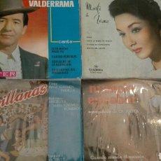 Discos de vinilo: LOTE CUATRO SINGLES. Lote 105885039