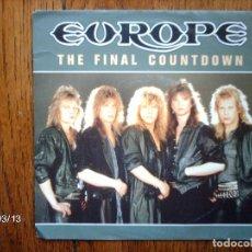 Discos de vinilo: EUROPE - THE FINAL COUNTDOWN + ON BROKEN WINGS . Lote 105886395