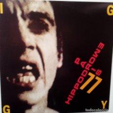 Discos de vinilo: IGGY POP- HIPPODROME PARIS 1977 - FRENCH 2 LP 1990- EXCELENTE ESTADO.. Lote 105889815
