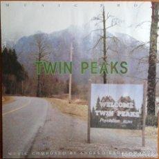 Discos de vinilo: TWIN PEAKS ANGELO BADALAMENTI MUSIC FROM TWIN PEAKS LP GERMANY 1990. Lote 105900627