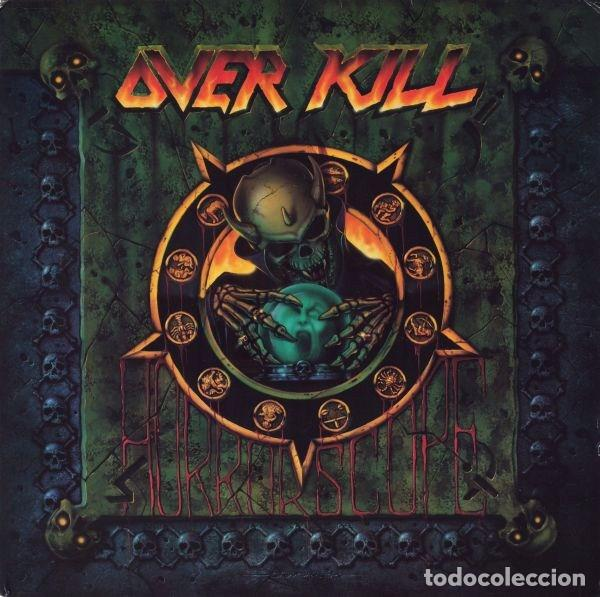 OVERKILL HORRORSCOPE LP 1991 MEGAFORCE.... KREATOR SLAYER (Música - Discos - LP Vinilo - Heavy - Metal)