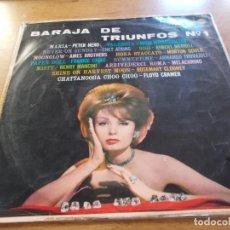 Disques de vinyle: BARAJA DE TRIUNFOS Nº 1. Lote 105905879
