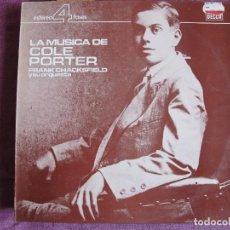 Discos de vinilo: LP - FRANK CHACKSFIELD - LA MUSICA DE COLE PORTER (SPAIN, DECCA 4 FASES 1985). Lote 105906491