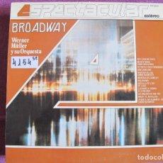 Discos de vinilo - LP - WERNER MULLER Y SU ORQUESTA - BROADWAY (SPAIN, TELEFUNKEN 4 FASES 1983) - 105911443