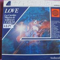 Discos de vinilo - LP - NORMAN CANDLER - LOVE (SPAIN, TELEFUNKEN 4 FASES 1982) - 105918855