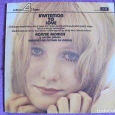 Discos de vinilo: LP - RONNIE ALDRICH AND HIS TWO PIANOS - INVITATION TO LOVE (SPAIN, DECCA-4 FASES 1974). Lote 105920195