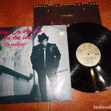 Discos de vinilo: GARY U.S. BONDS ON THE LINE LP VINILO 1982 CON ENCARTE ESPAÑA TEMAS DE BRUCE SPRINGSTEEN 11 TEMAS. Lote 105934123