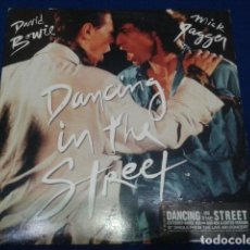 Discos de vinilo: DAVID BOWIE & MICK GAGGER ( DANCIN IN THE STREET ) 1985 EMI USA. Lote 105945239