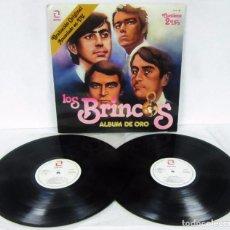 Discos de vinilo: LOS BRINCOS - ALBUM DE ORO - 2 LP - ZAFIRO 1981 SPAIN ORIGINAL ZN-402. Lote 105948295
