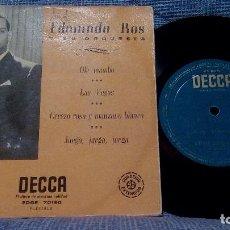 Discos de vinilo: EDMUNDO ROS Y SU ORQUESTA - OLÉ MAMBO + 3 EP DECCA EDGE-70190 SPAIN. Lote 105951335