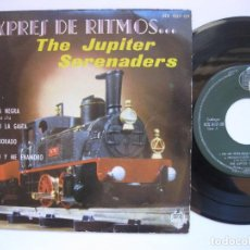 Discos de vinilo: THE JUPITER SERENADERS - EP SPAIN PS - EX * CHA CHA NEGRA ( EXPRES DE RITMOS ...). Lote 105967703