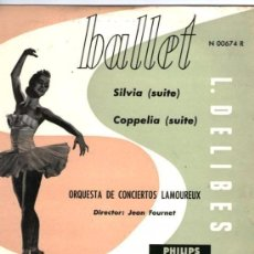 Discos de vinilo: L. DELIBES - BALLET- SILVIA_COPPELIA - DISCO 10 PULGADAS PHILIPS. Lote 105968367