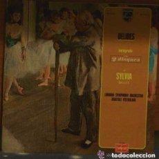 Discos de vinilo: DELIBES– DE SYLVIA BALLET - DOBLE LP FRANCE 1972. Lote 105968599