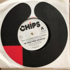Discos de vinilo: ROGER WEBB ORCHESTRA - THEME FROM HAMMER HOUSE OF HORROR - SINGLE CHIPS UK 1980. Lote 105969931