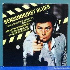 Discos de vinilo: ARTIE KAPLAN. BENSONHURST BLUES, B.S.O DE 'LA PIEL DE UN POLICIA'. EDIGSA 1982, REF. 01S0337 1. 7''. Lote 105970631