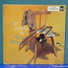 Discos de vinilo: EL SONIDO DE GLEN MILLER, RCA 1958, REF. 3-20127. EP. Lote 105977303