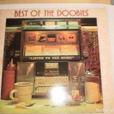 Discos de vinilo: LP BEST OF THE DOOBIES BROTHERS. LISTEN TO THE MUSIC. 1976 ENGLAND (DISCO PROBADO Y BIEN). Lote 105978799
