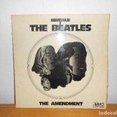 Discos de vinilo: HOMENAJE A THE BEATLES - THE AMENDMENT - ALAMO 1973. Lote 105981315