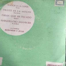 Discos de vinilo: E P (VINILO) DE JOSE LUIS DE UTIEL AÑOS 60. Lote 105982039