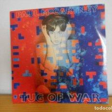 Discos de vinilo: PAUL MCCARTNEY - TUG OF WAR - EMI-ODEON 1982 ( THE BEATLES ). Lote 105987111