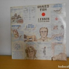 Discos de vinilo: JOHN LENNON - SHAVED FISH - EMI-CAPITOL ( THE BEATLES ) - EDICION CANADA. Lote 105987603